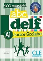jaquette CD-rom ABC DELF Junior scolaire A1 + Livre