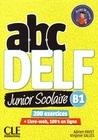 ABC DELF Junior scolaire B1 + Livre
