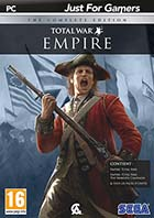 jaquette CD-rom Empire Total War - The complete edition (jeu original + The warpath campaign + All unit packs)