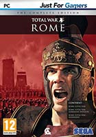 jaquette CD-rom Total War - Rome - The complete edition