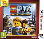 jaquette CD-rom LEGO City : Undercover - The Chase Begins - Nintendo Selects - 3DS
