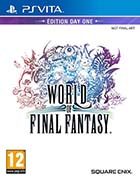 jaquette CD-rom World of final fantasy - PS Vita