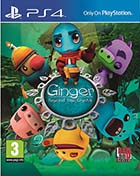 jaquette CD-rom Ginger - Beyond the crystal - PS4