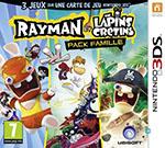 Rayman et les Lapins Crétins - Pack Famille - 3DS