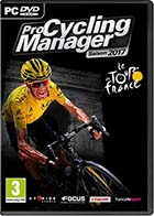 jaquette CD-rom ProCycling Manager - Saison 2017 - PC
