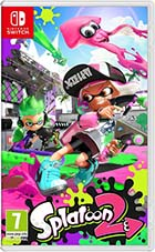 jaquette CD-rom Splatoon 2