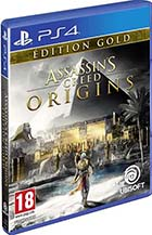 Assassin's Creed - Origins - Edition gold - PS4