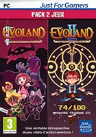 jaquette CD-rom Evoland 1+2