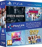 Pack Playlink : Qui es tu ? + Knowledge is Power + SingStar Celebration + Hidden Agenda