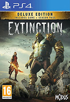 Extinction Deluxe edition - PS4 (+ season pass Days of Dolorum)