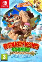 jaquette CD-rom Donkey Kong country Tropical Freeze