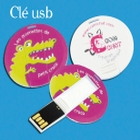 jaquette CD-rom Clown et kamishibaï croco - Clé USB