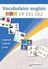 Vocabulaire anglais CP-CE1-CE2