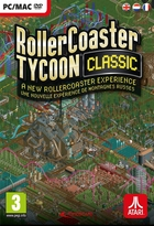 jaquette CD-rom Rollercoaster Tycoon Classic