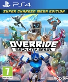 jaquette CD-rom Override : Mech City Brawl - Super Charged Mega Edition