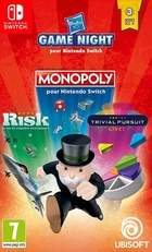 Hasbro Game Night : Monopoly, Risk et Trivial Pursuit
