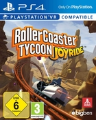 jaquette CD-rom Roller Coaster Tycoon : Joyride - Playstation VR Compatible