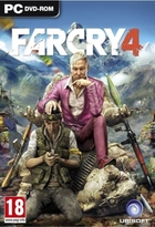 jaquette CD-rom Far Cry 4