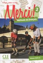 Merci ! Méthode de français - 2 - Livre