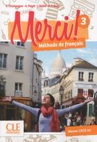 Merci ! Méthode de français - 3 - Livre