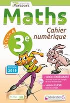 Cahier numérique iParcours Maths - 3ème Cycle 4 - Enseignant et élève - Site (éd. 2019)