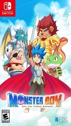 jaquette CD-rom Monster Boy and the Cursed Kingdom