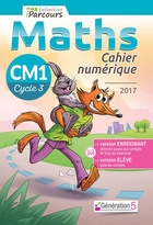 Cahier numérique iParcours Maths - CM1 Cycle 3 - Enseignant et élève - Clé USB (éd. 2017)