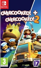 jaquette CD-rom Overcooked! 1 + 2