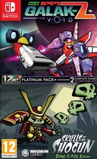 jaquette CD-rom Galak-Z : The Void + Skulls of the Shogun : Bonafide - Edition Platinum Pack
