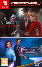 Mystery Investigations 1 Path of Sin : Greed + Noir Chronicles : City of Crime