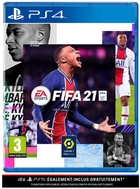 jaquette CD-rom Fifa 21 - Edition Standard (Version PS5 incluse)