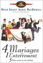 4 [quatre] mariages et un enterrement | Newell, Mike. Réalisateur