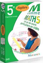 M comme Maths - Algèbre 5ème - Licence 600 à 1200 postes