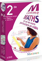 M comme Maths - 2nde - Licence 600 à 1200 postes