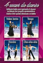 Achat DVD Coffret 4 DVD de cours de danse - Tango, valse lente, cha-cha-cha, rumba