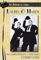 Achat DVD Laurel & Hardy, 16 courts-m�trages (1916-1926)