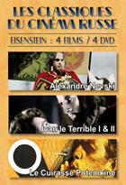 Achat DVD Les Grands classiques du cin�ma russe - Eisenstein : 4 films / 4 DVD