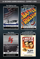 Achat DVD Coffret Guerre  - The Fighting Lady + The Battle of Russia + Nazi Strike + Le Commando de la mort
