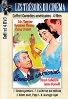 Achat DVD Coffret Com�dies am�ricaines : 4 films - Illusions perdues + La Chasse aux millions + Allons donc, Papa ! + Mariage royal