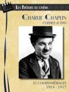 Achat DVD Charlie Chaplin - Coffret 6 DVD : 21 courts-m�trages (1914-1917)