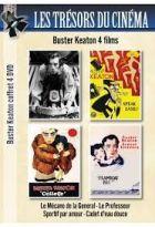 Achat DVD Buster Keaton 4 films  - Le M�cano de la General + Le Professeur + Sportif par amour + Cadet d'eau douce