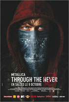 DVD Metallica - Through the Never
