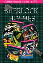 Achat DVD Coffret Sherlock Holmes - Sherlock Holmes et l'arme secr�te + Sherlock Holmes : La Femme en Vert + Sherlock Holmes : Le Train de la Mort + Sherlock Holmes et la Clef