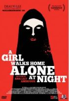 A girl walks home alone at night |