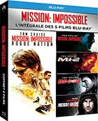 Mission : impossible : Intégrale 5 Films