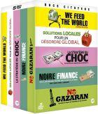 Docs citoyens : We Feed the World - Solutions locales pour un désordre globa - La stratégie du choc - Noire finance - No Gazaran