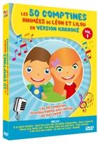 50 comptines animées de Léon et Lilou en version karaoké (Les)