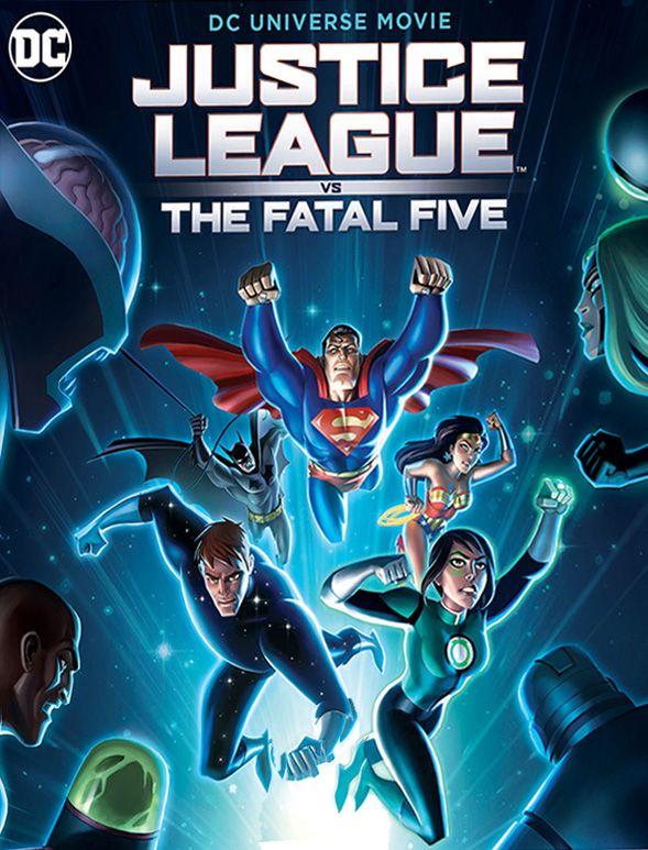 Justice League : The Fatal Five |