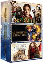 Voyage du Dr Dolittle (Le) + La prophétie de l'horloge + Mortal engines