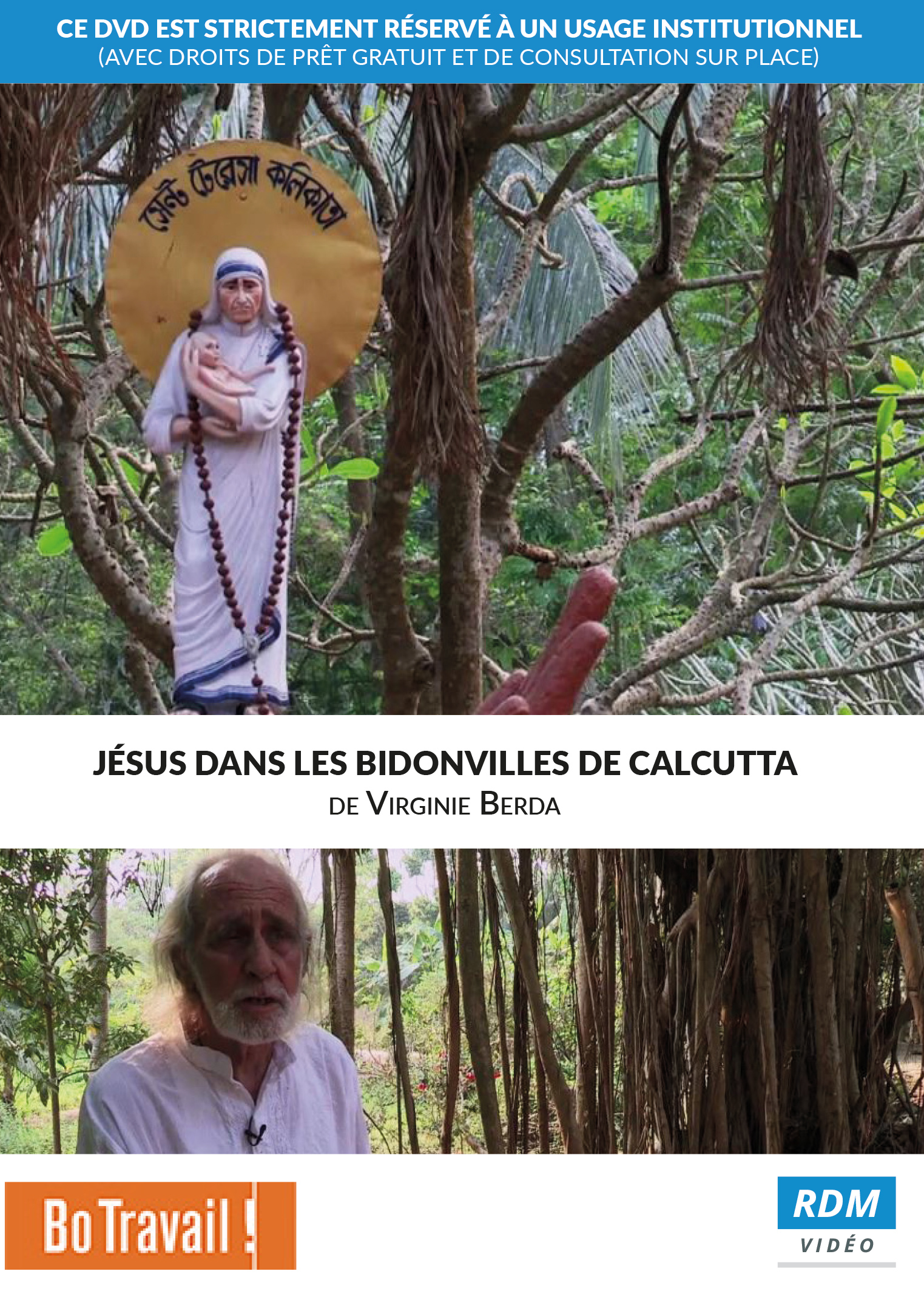 Jésus dans les bidonvilles de Calcutta